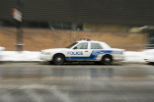 Rhode Island police car chase accident